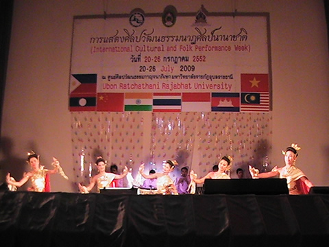 Thai Troupe Opening Act