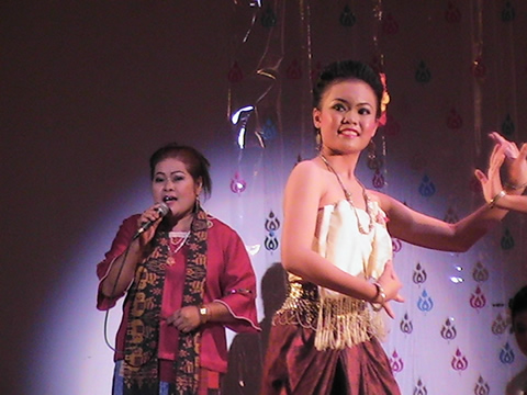 Singer and Dancer From Surin Troupe