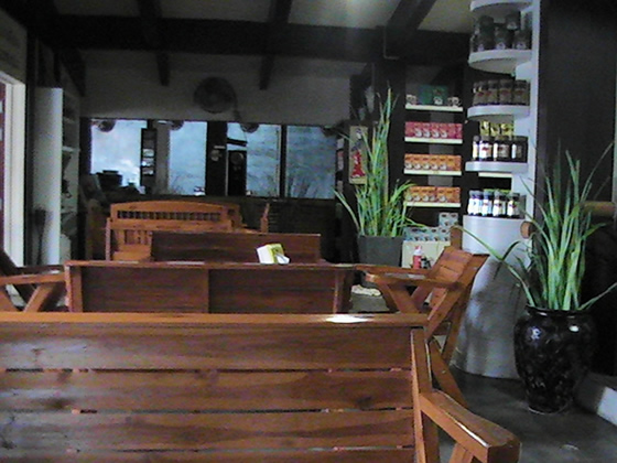 Interior view of Dao Coffee Ubon Ratchathani