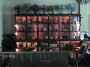 Rotary Phone collection at Pantae Coffee Shop